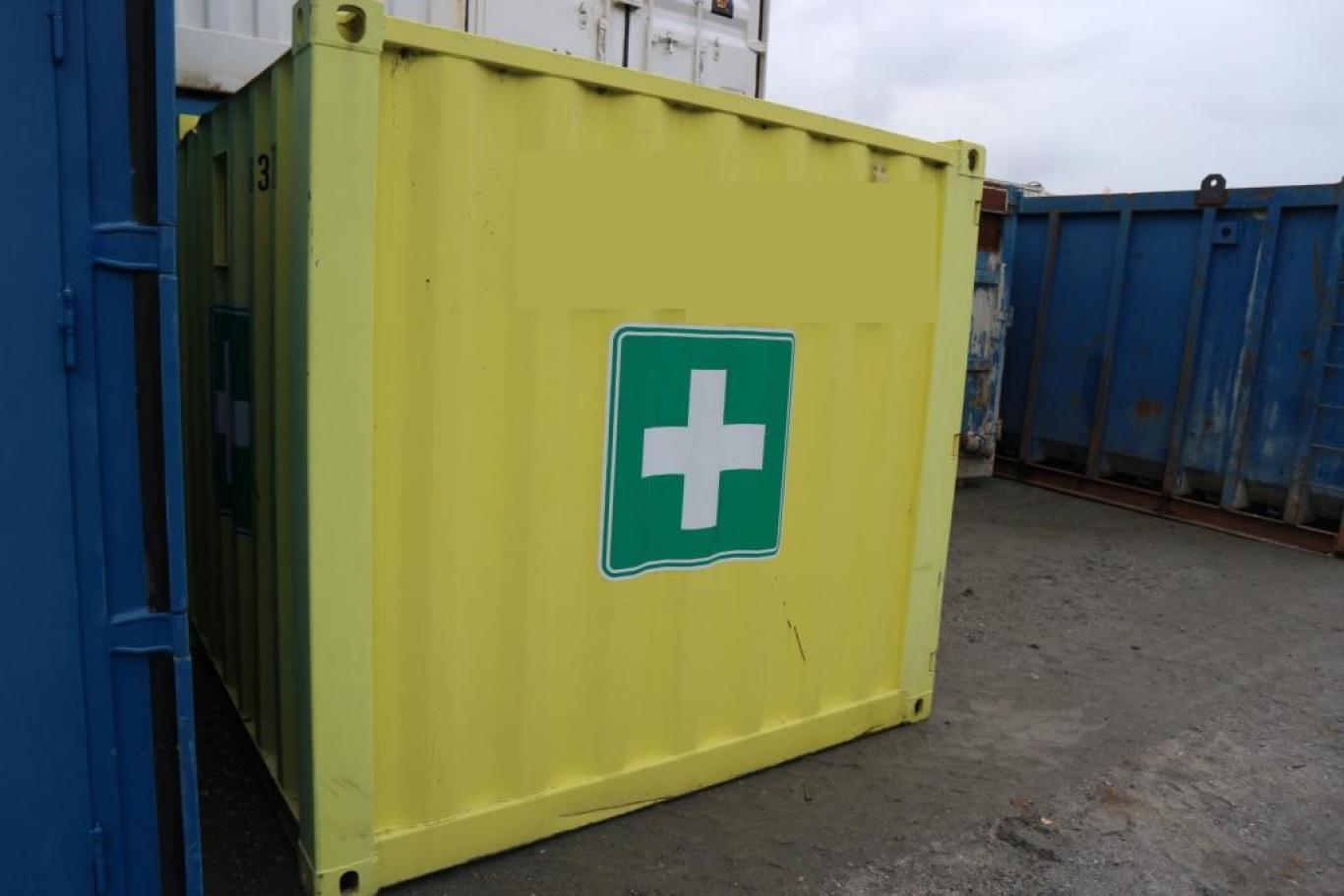 Førstehjelp Container