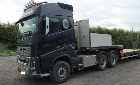 Volvo Fh16 750 6x4 With Hydraulics