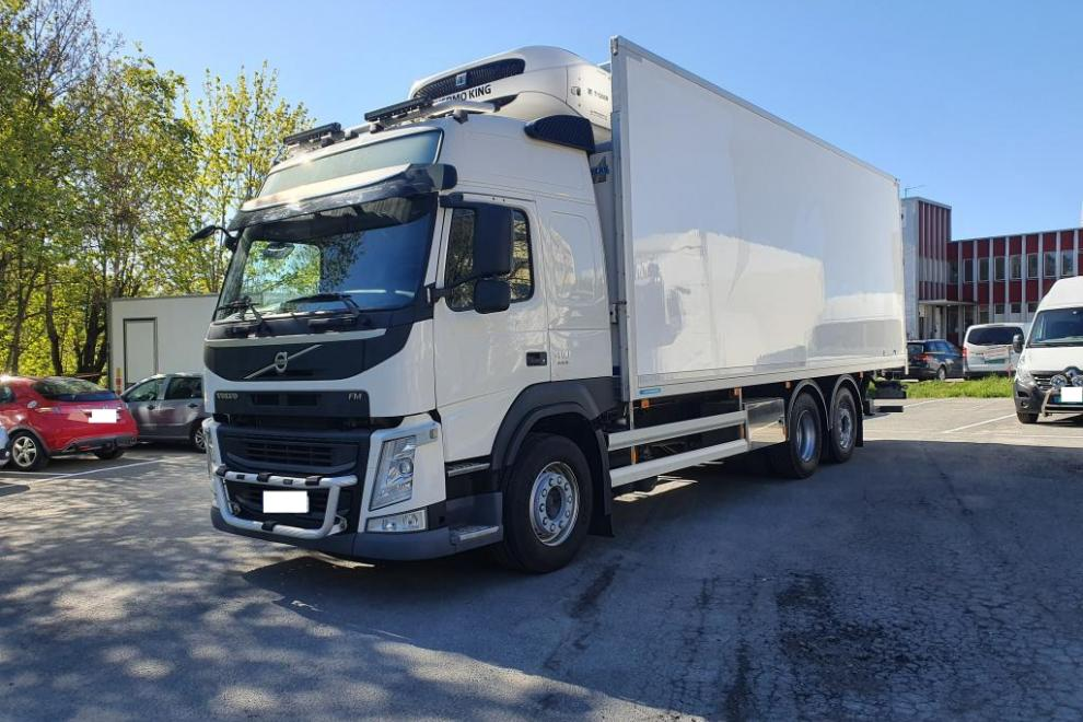 Volvo FM12 410  - SKAB superstructure - Thermo King aggregate- Euro 6t