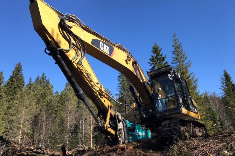 Used Caterpillar 323DL for sale