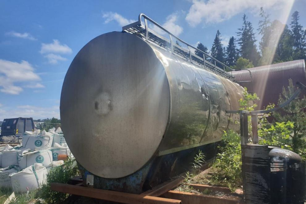 Stainless water tank 10 m3